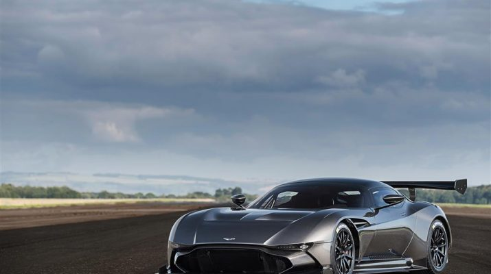 Best Sports Cars - Aston Martin Vulcan and its Impressive Features