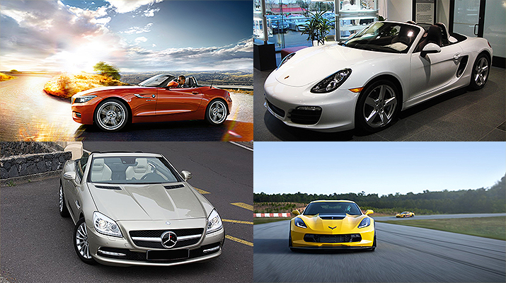 4 Convertible Sports Cars for Sale in the UAE