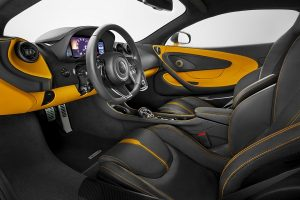 The Interior of 2017 McLaren 570S Coupe