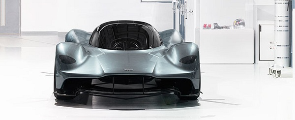 Exterior of the Aston Martin Valkyrie