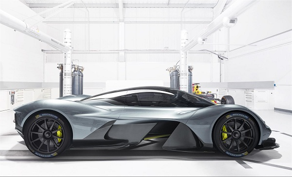 The Exterior of the Aston Martin Valkyrie