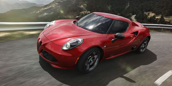 Powertrain of 2017 Alfa Romeo 4C