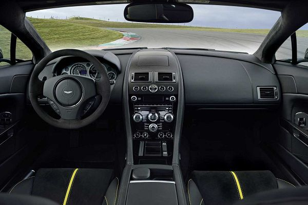 Technological Features of 2017 Aston Martin V12 Vantage