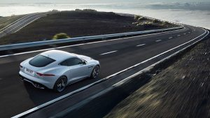 Exterior of the 2017 Jaguar F-Type