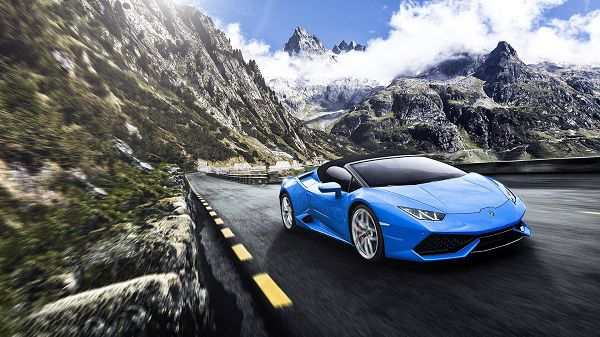Powertrain of 2017 Lamborghini Huracan Spyder