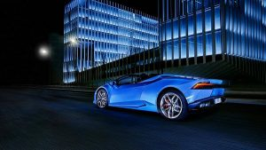 Safety Features of 2017 Lamborghini Huracan Spyder