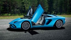 Design of Sports Cars - 2017 Lamborghini Aventador