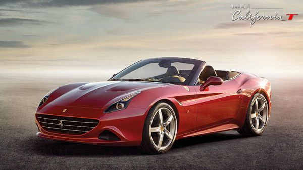 Exterior of Ferrari California 2017