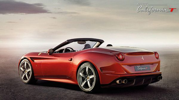 Exterior of the Ferrari California 2017