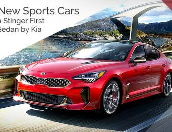 Best New Sports Cars - 2018 Kia Stinger First Sports Sedan by Kia