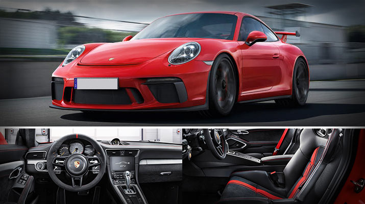 Sports Cars Dubai - 2018 Porsche 911 GT3 Sports Coupe with Upgraded Engine