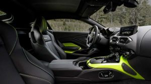 Interior of the 2018 Aston Martin Vantage