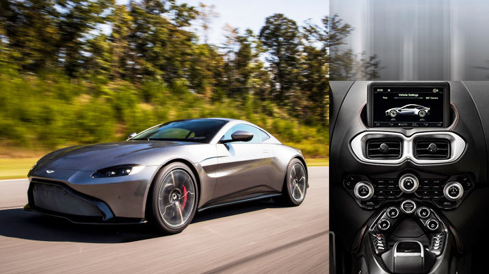 New Model Sports Cars - 2018 Aston Martin Vantage with Powerful Twin-Turbocharged V8 Engine