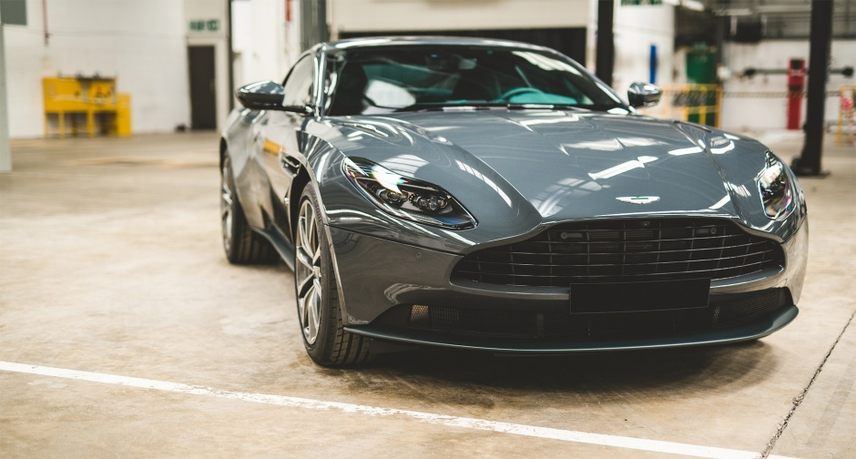 Exterior of the Aston Martin DB11 Classic Driver Special Edition