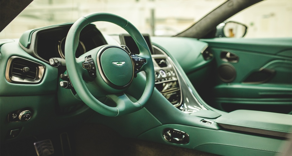 Interior of the Aston Martin DB11 Classic Driver Special Edition