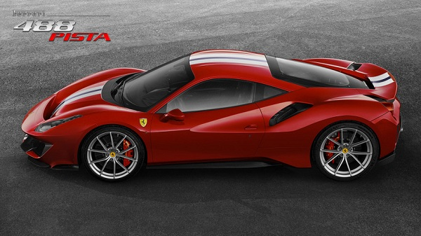 Price of the 2018 Ferrari 488 Pista
