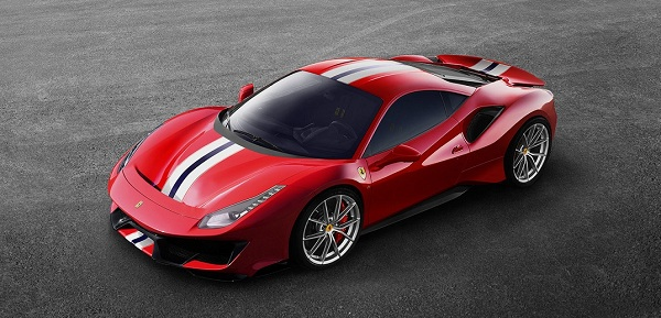 Exterior Design of the 2018 Ferrari 488 Pista