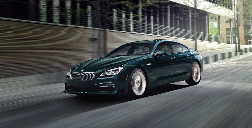 Design of the BMW Alpina B6 2019