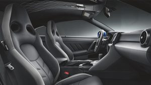 Interior of the 2020 Nissan GT-R