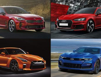 Top 4 Luxury Sports Cars of 2020 in the UAE