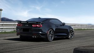 Design of the 2020 Chevrolet Camaro ZL1