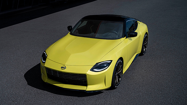 Exterior of the Nissan Z Proto