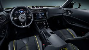 Interior of the Nissan Z Proto