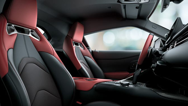 Interior of the 2021 Toyota GR Supra