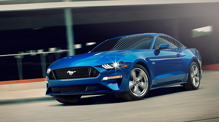 2021 Ford Mustang-Luxury Coupe with a V8 Engine