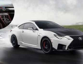 2021 Lexus RC F - Luxury Coupe with a V8 Engine